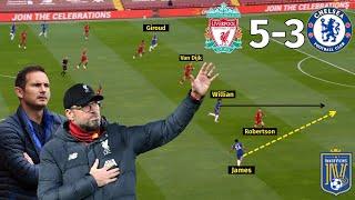 Defensive Mistakes Ruin Lampard's Tactics   Liverpool vs Chelsea 5-3   Tactical Analysis
