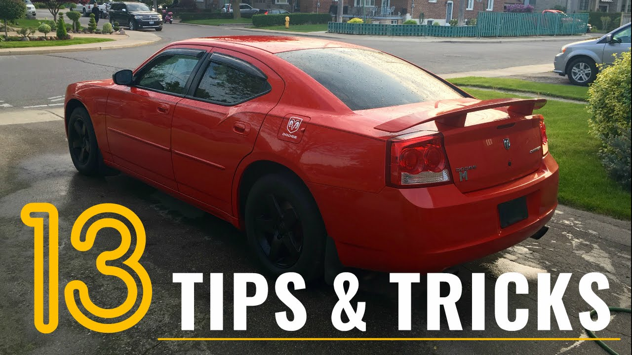 13 Dodge Charger + Mopar Tips, Tricks, & Hacks – THINGS YOU DIDN'T KNOW -  PART 1