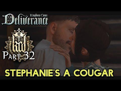 STEPHANIE'S A COUGAR! [#32] Kingdom Come: Deliverance with HybridPanda