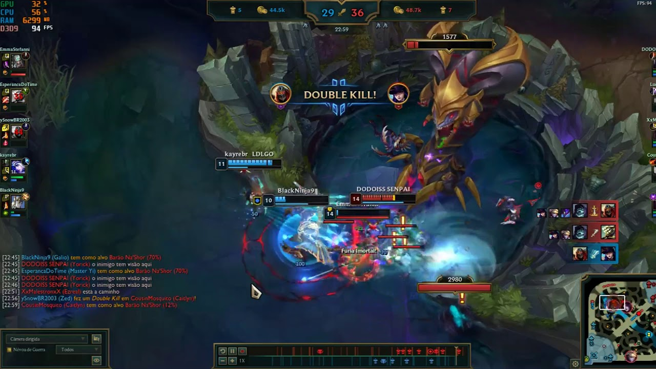 Nightmare Yorick Pentakill League Of Legends Youtube