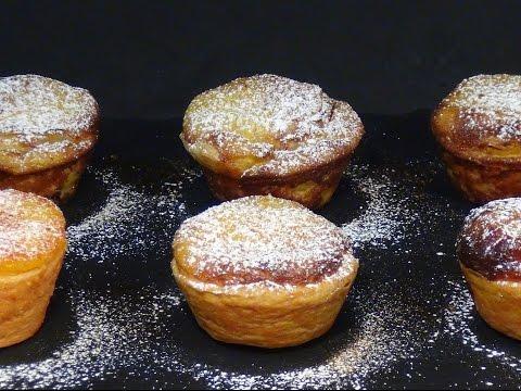 Receta Pasteles de Belém o pasteles de nata - Recetas de cocina, paso a paso, tutorial