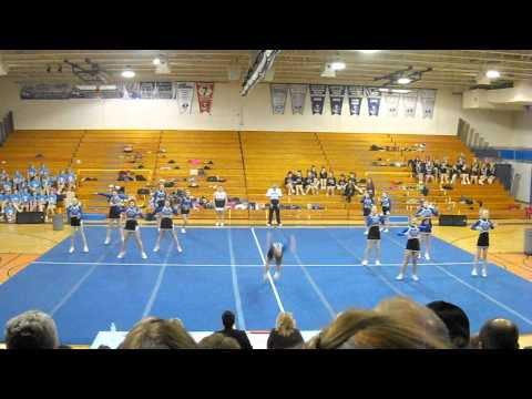 Mountain Valley High School Cheering MVCs 2014