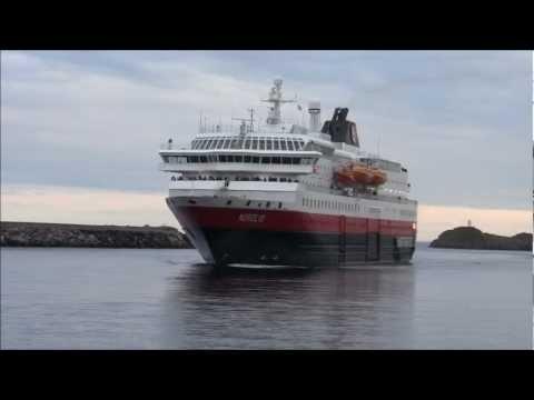 Hurtigruten - Nordlys - Svolvær