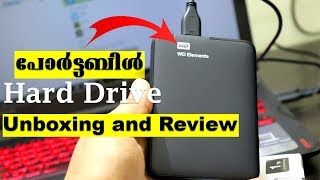 Portable hard drive unboxing/review-WD ELEMENTS by Computer And Mobile Tips