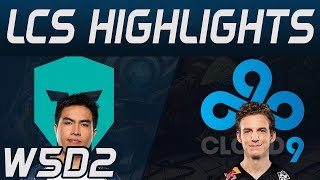 IMT vs C9 Highlights LCS Spring 2020 W5D2 Immortals vs Cloud9 LCS Highlights 2020 by Onivia