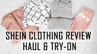 SHEIN CLOTHING REVIEW // Haul & Try-on // Shopping Online Easy