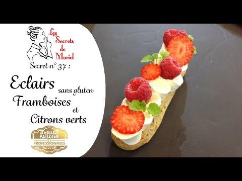eclairs-sans-gluten-framboises-et-citron-vert-//-recette-d'une-cheffe-pâtissière