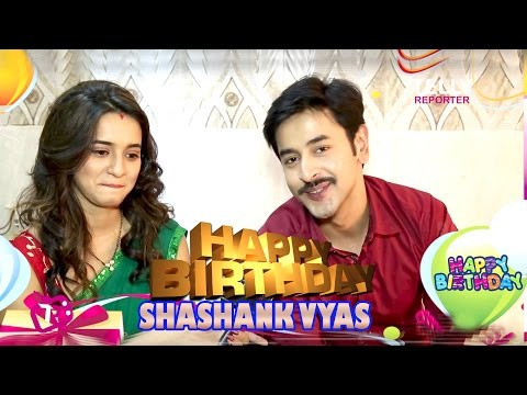 Shashank Vyas Celebrates His Birthday With Shivani Surve & Telly Reporter | EXCLUSIVE