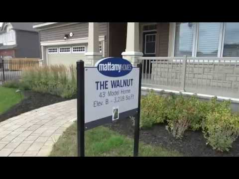 model homes tour 3 mattamy homes youtube