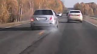 Появилось видео смертельного ДТП, где Mitsubishi влетел в Ладу Весту NN.RU