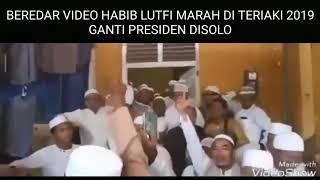 VIDEO HABIB LUTFI MARAH DITERIAKI 2019 GANTI PRESIDEN DI SOLO