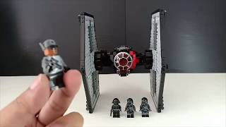 LEPIN 05005 First Order Special force TIE Fighter review!! [Kiddy version!!]