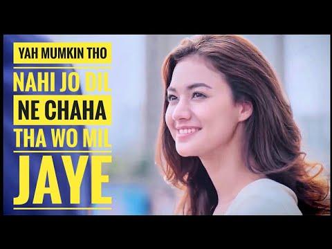 Allah Mujhe Dard Ke Kabil Bana Diya Song | O Saathi | Baaghi 2 | Romantic Korean Mix | Korean Video