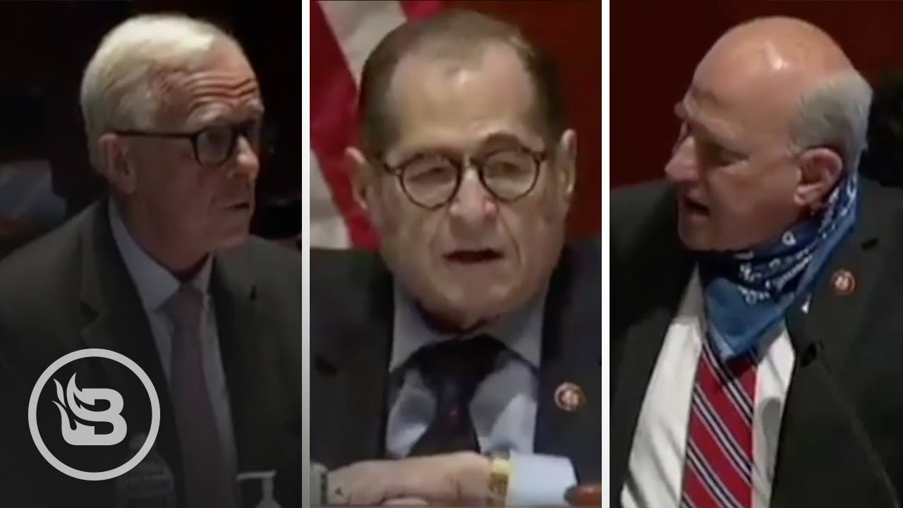 Chaos ERUPTS in House Hearing as Witness Trashes AG Barr and Louie Gohmert Steps in