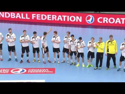 Germany vs Slovenia (Place 3/4) - EHF M18 EURO 2016