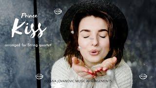 PURPLE RAIN, KISS (Prince) SHEET music for STRING QUARTET