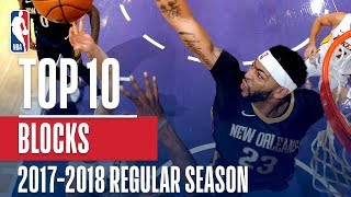 Top 10 Blocks of the 2018 NBA Regular Season