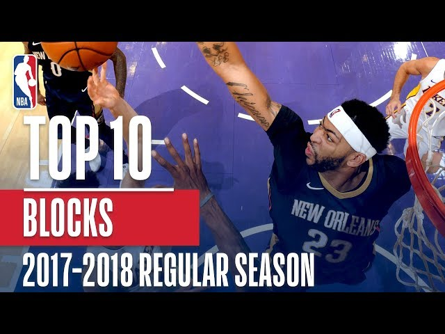 Top 10 Blocks of the 2018 NBA Regular Season