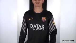 Nike barcelona goalkeeper jersey 15/16 ...