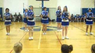 AMS Cheerleaders- Hey Mickey