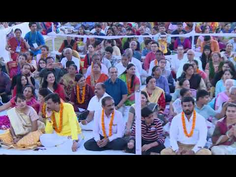 Shivoham - Rudra Puja and Satsang with Gurudev Sri Sri Ravi Shankar, Gandhinagar, Gujarat