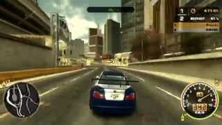 Need for Speed Most Wanted - BMW M3 GTR Engine Sound 2 (German) PS2 HD