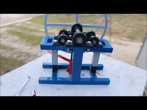 homemade roller bender, CARA MEMBUAT ROLLER BENDER
