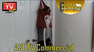 Kitty Hi-Rise As Seen On TV Commercial Buy Kitty Hi-Rise As Seen On TV Cat Tree Kitty Condo
