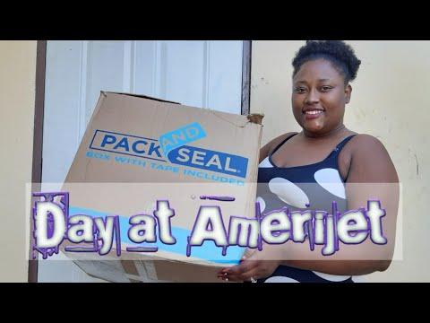 Day at amerijet getting shipment| #Vlogmas2019| #giftshopping| #unboxing| #Amerijet| #caribbeanVlog