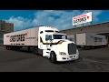 Kenworth T660 De Transportes Castores! Mazatlán a Durango México! Euro Truck Simulator 2