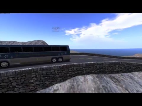 Charter Bus Commercial Stock Video