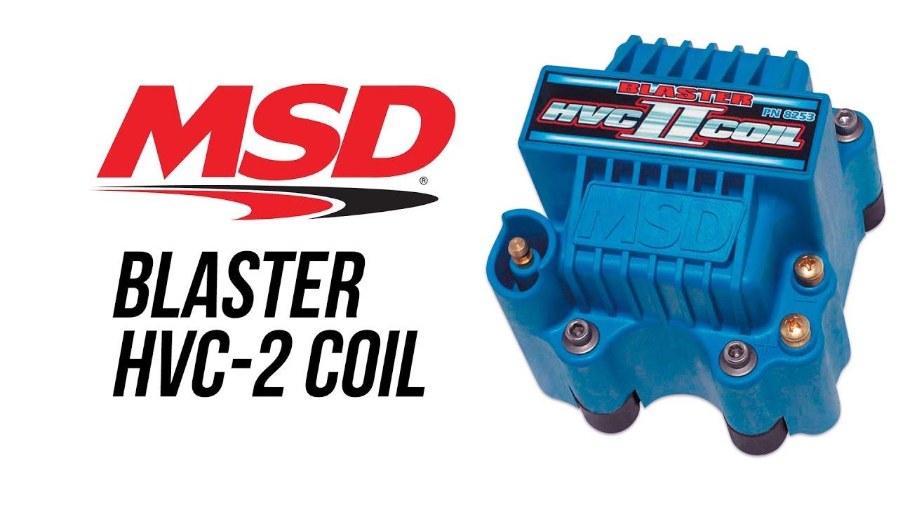 MSD Ignition 8253 Blaster 44,000-Volt Ignition Coil