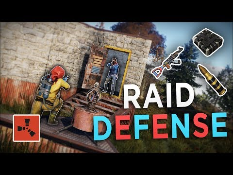 DEFENDING my BASE then STEALING ALL of his EXPLOSIVES! - Rust Solo Survival #7 (END) thumbnail