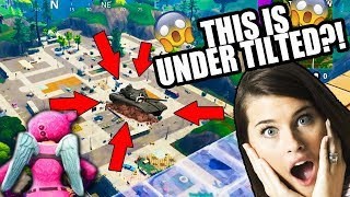 YOU WON'T BELIEVE WHAT'S UNDER TILTED!!!! | SUPER Funny Fortnite!