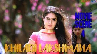 Movie Scene 4 - Khiladi Lakshmana (Lakshmana) - Hindi Dubbed Movie   Anup Revanna   Meghna Raj