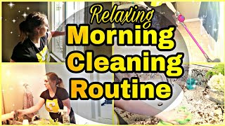 RELAXING CLEAN WITH ME /MASTER BED + BATH