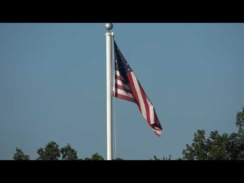 Oakshade raceway  Pledge of Allegiance and National Anthem