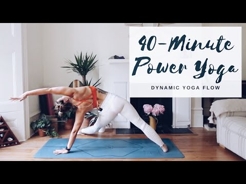 40-MINUTE POWER YOGA