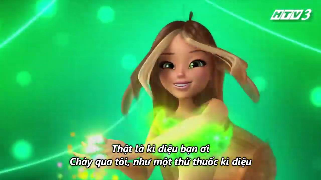 Winx Club Việt Nam – Biến Hình Sirenix 3D Tiếng Việt HTV3