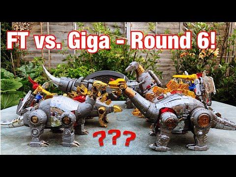 FT Vs. Giga - Round 6! The Dinobots. Final Round!
