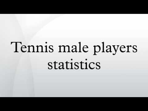 Tennis male players statistics