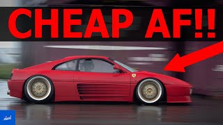 Cheapest Ferrari Models You Can Buy
