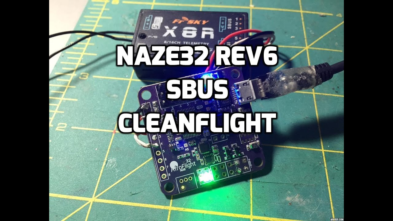 maxresdefault setup naze32 rev6 with sbus on cleanflight using betaflight youtube