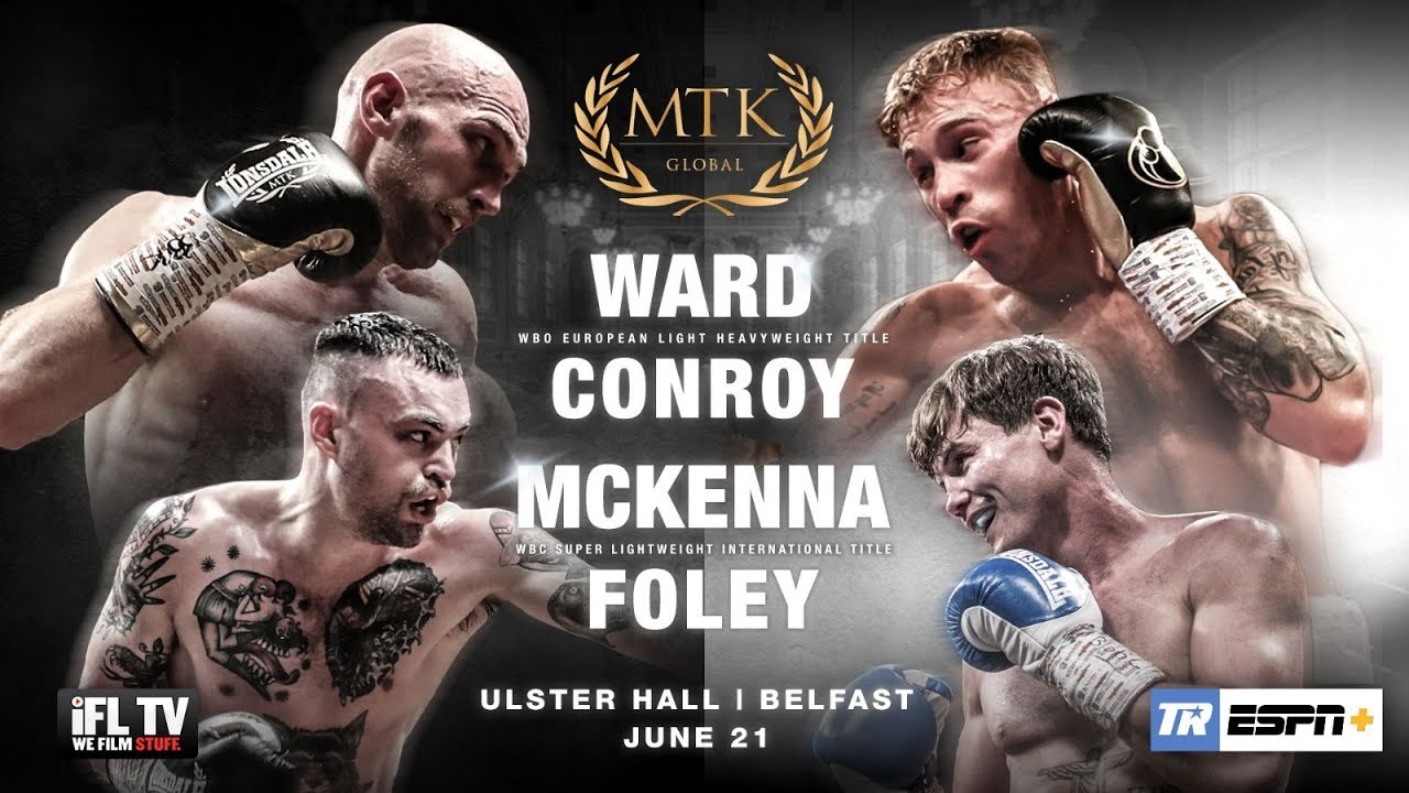 MTK Fight Night - Harris Vs Barnes, 11 October 2019 | Ulster Hall