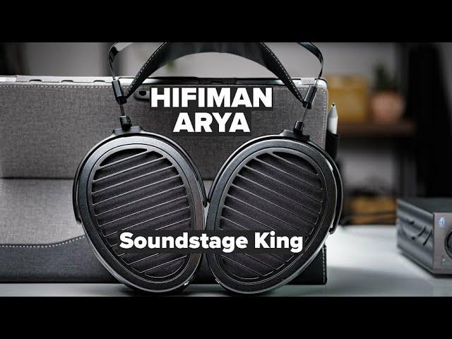 HiFiMAN Arya Review - A Planar HD800s?