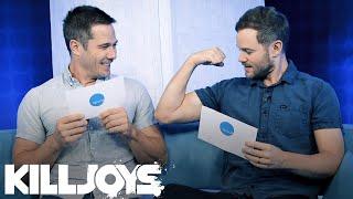 Aaron And Luke Talk Killjoys Season 4: Part 2 Video