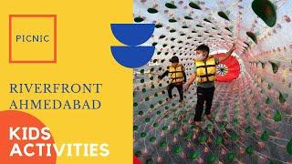Activities for kids at Riverfront Ahmedabad #fun #kidsactivity #picnicspot