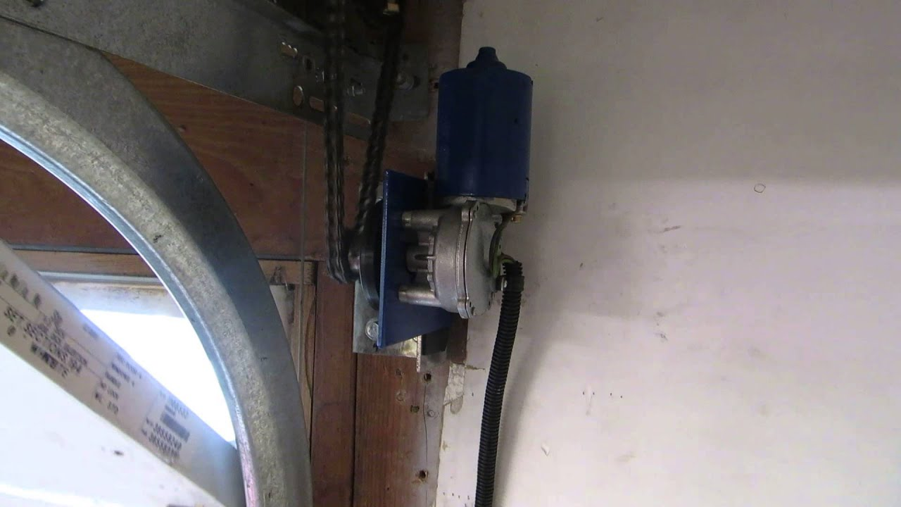 Marantec Martin Broten Harrison Custom Garage Door Opener Side Mount Jackshaft Zap  YouTube