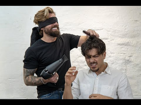Download Hairstyling with blindfold. HUGE MISTAKE 🤯