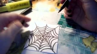 Как нарисовать паутину,  новый канал 🔪🎆(, 2015-12-24T18:02:15.000Z)